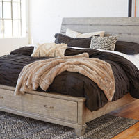 Benchcraft Naydell Queen Storage Bed- Room View