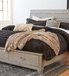 Benchcraft Naydell King Storage Bed