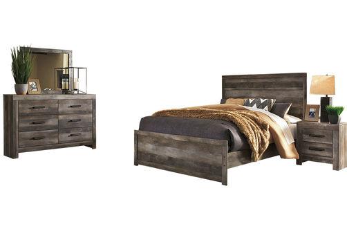 Signature Design by Ashley Wynnlow 8-Piece Queen Bedroom Set Bundle