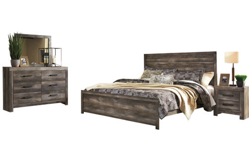 Signature Design by Ashley Wynnlow 8-Piece King Bedroom Set Bundle
