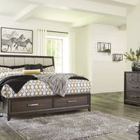 Signature Design by Ashley Brueban 7-Piece King Bedroom Set Bundle