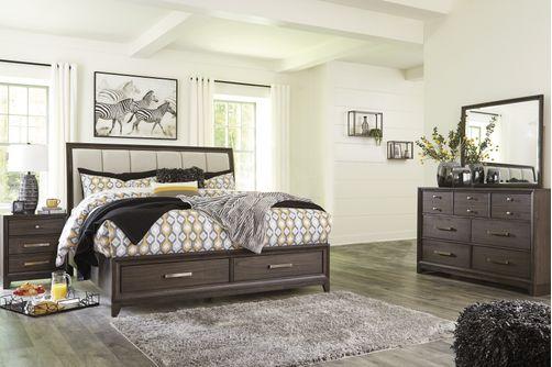 Signature Design by Ashley Brueban 7-Piece King Bedroom Set Bundle