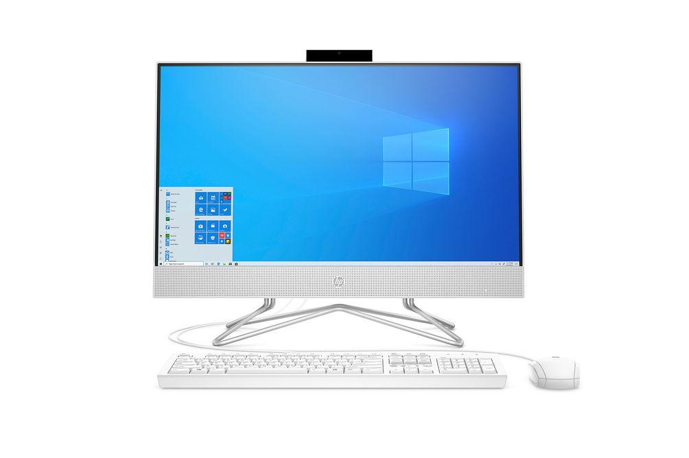 HP 23.8 inch All-In-One AMD Athlon 3050U Desktop Computer