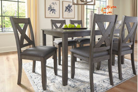 Signature Design by Ashley Caitbrook 6-Piece Dining Set- Room View
