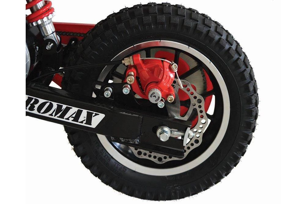 Burromax TT250 24V Black Electric Mini Bike - Alternate Image