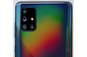 Samsung Galaxy A71- Camera View