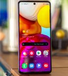 Samsung Galaxy A71- Alternate View