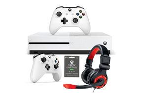 Microsoft Xbox One S 1TB Game Console Mega Bundle