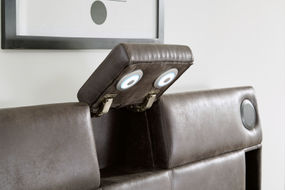 Signature Design by Ashley Mirlenz Queen Storage Bed- Lighting