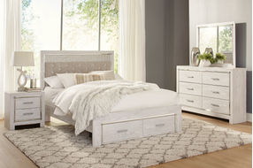 Signature Design by Ashley Altyra 6-Piece Queen Bedroom Set- Room View