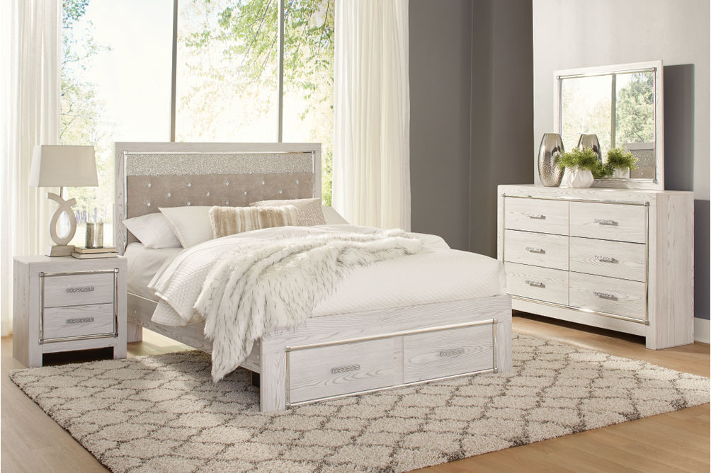 Signature Design by Ashley Altyra 6-Piece King Bedroom Set- Room View