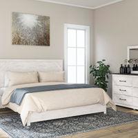 Signature Design by Ashley Gerridan 6-Piece King Bedroom Set - Room View