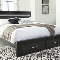 Signature Design by Ashley Starberry King Queen Bed - Room View