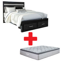 Signature Design by Ashley Starberry Queen Bed and Mattress Bundle