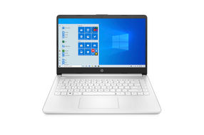 HP 14 Inch AMD Athlon 3020e Laptop Snowflake White