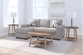 Signature Design by Ashley Greaves-Stone Sofa Chaise- Room View