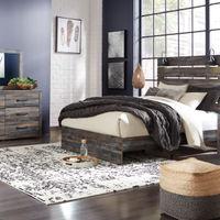 Signature Design by Ashley Drystan 6-Piece Queen Bedroom Set- Room View