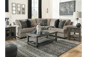 Signature Design by Ashley Bovarian 2-Piece Sectional - Sample Room View