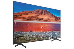 Samsung 70 inch 4K UHD LED Smart TV UN70TU7000BXZA- Side Angle View
