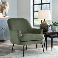 Signature Design by Ashley Dericka- Moss Accent Chair - Sample Room View