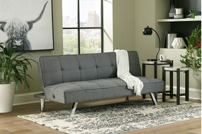 Signature Design by Ashley Santini-Gray Flip Flop Sofa Bed - Room View
