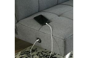Signature Design by Ashley Santini-Gray Flip Flop Sofa Bed - USB Port