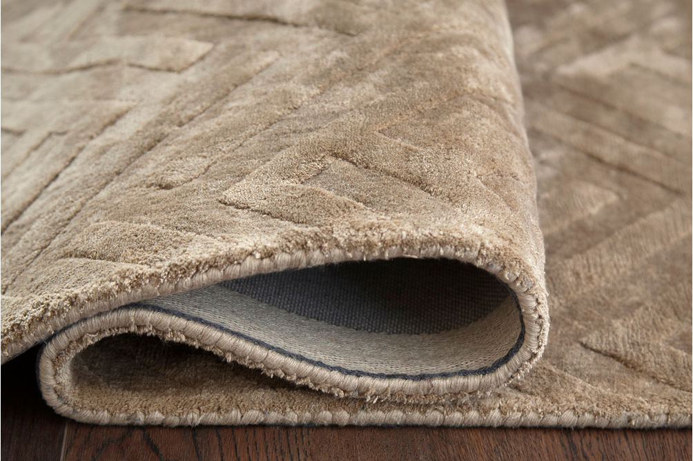 Signature Design by Ashley Kanella Gold Indoor Accent Rug - Pile Height View