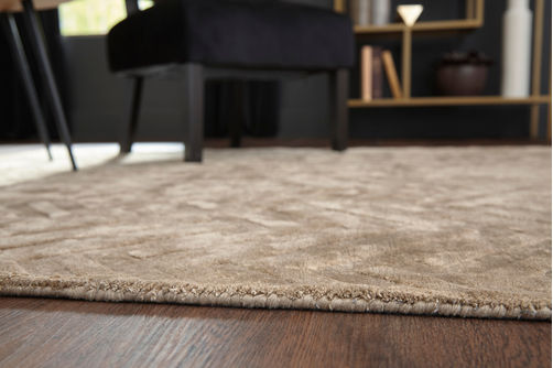 Signature Design by Ashley Kanella Gold Indoor Accent Rug - Alternate Image View