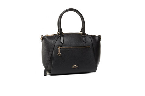Coach Elise Satchel - Black