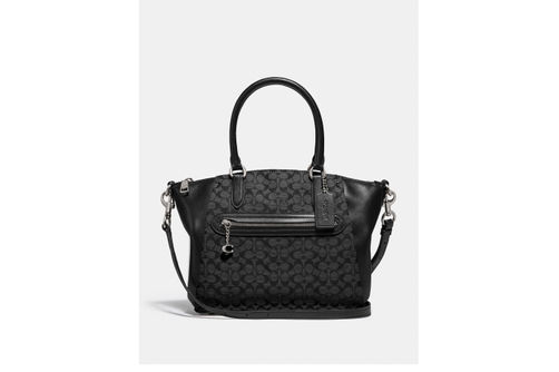 Coach Elise Signature Satchel - Black