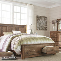 Signature Design by Ashley Blaneville 7-Piece King Bedroom Set - Room View