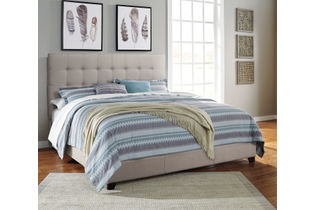 Signature Design by Ashley Dolante King Bed with Mattress - Room View