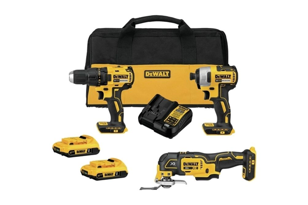 DEWALT 20V Max Brushless Cordless 3-Tool Combo Kit