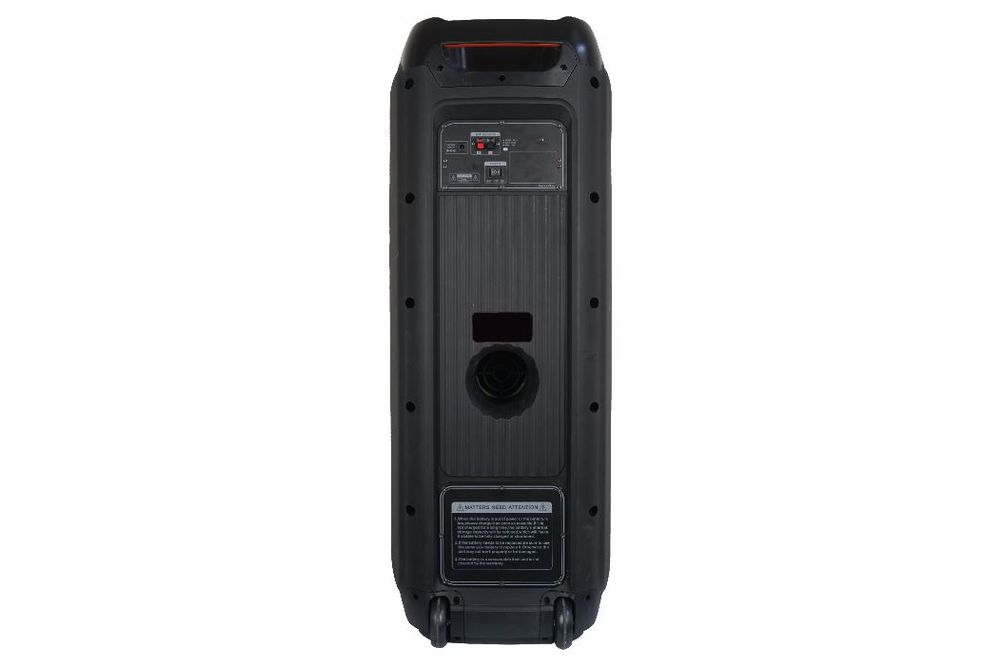Altec Lansing 3000W Dual 10 Inch Bluetooth Party Speaker - Back View