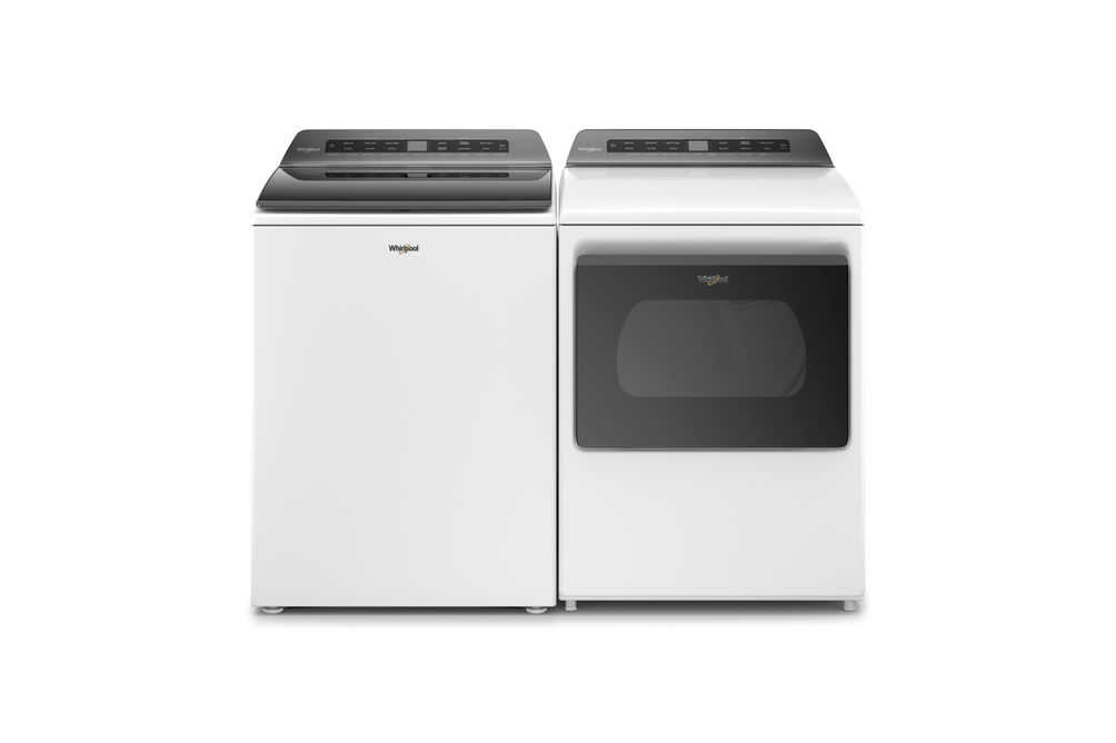 Whirlpool 4.7 Cu.Ft. Top Load Washer and 7.4 Cu. Ft. Gas Dryer