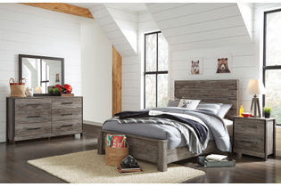 Signature Design by Ashley Cazenfeld 6-Piece King Bedroom Set - Room View