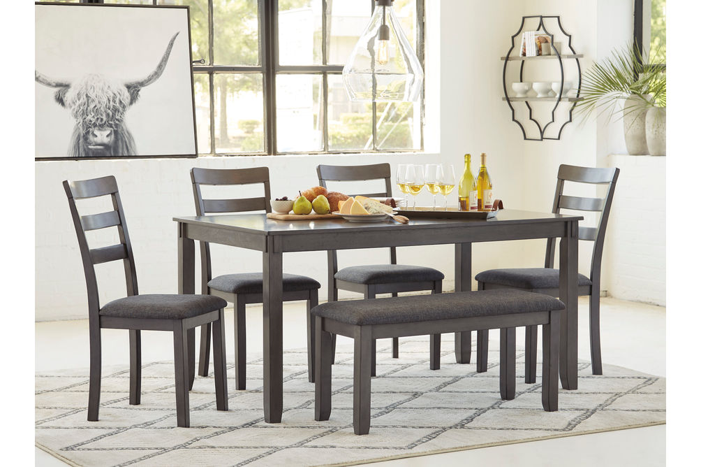 Signature Design by Ashley Bridson 6-Piece Dining Set - Room View