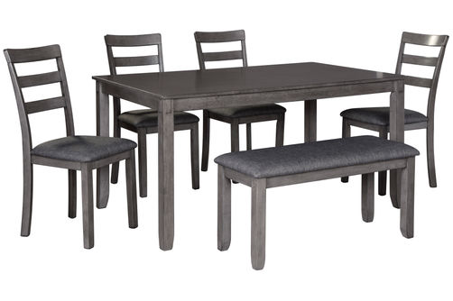 Signature Design by Ashley Bridson 6-Piece Dining Set