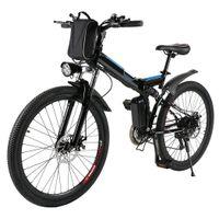 Ancheer 26 inch Wheel Folding Electric Mountain Bike