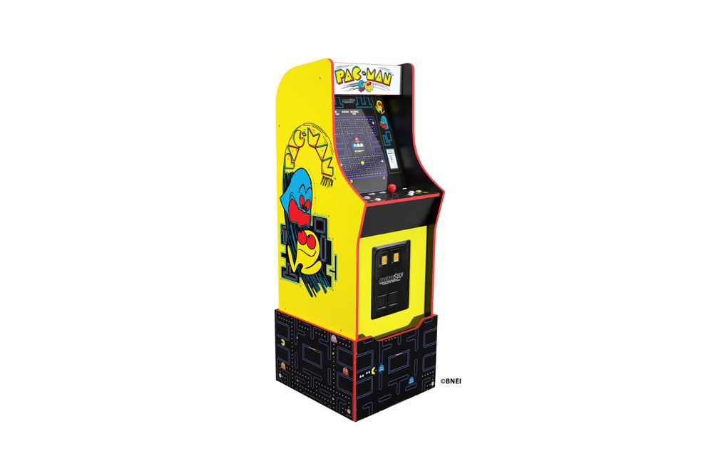 Arcade1Up Bandai Pac-Man Legacy Edition Arcade Game with Riser