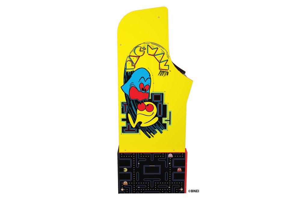 Arcade1Up Bandai Pac-Man Legacy Edition Arcade Game - Side View