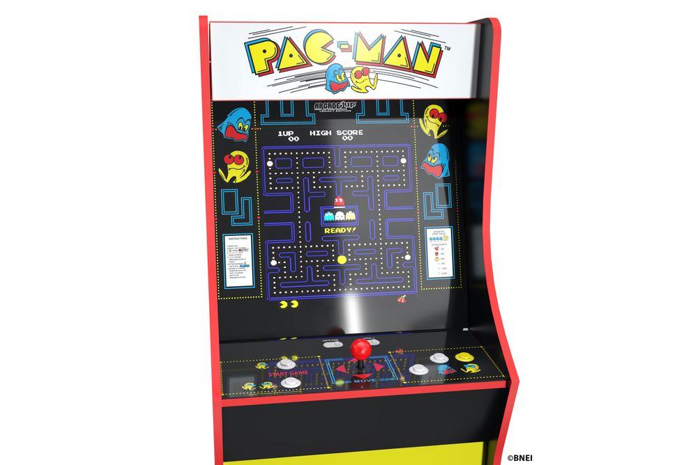 Arcade1Up Bandai Pac-Man Legacy Edition Arcade Game - Screen View