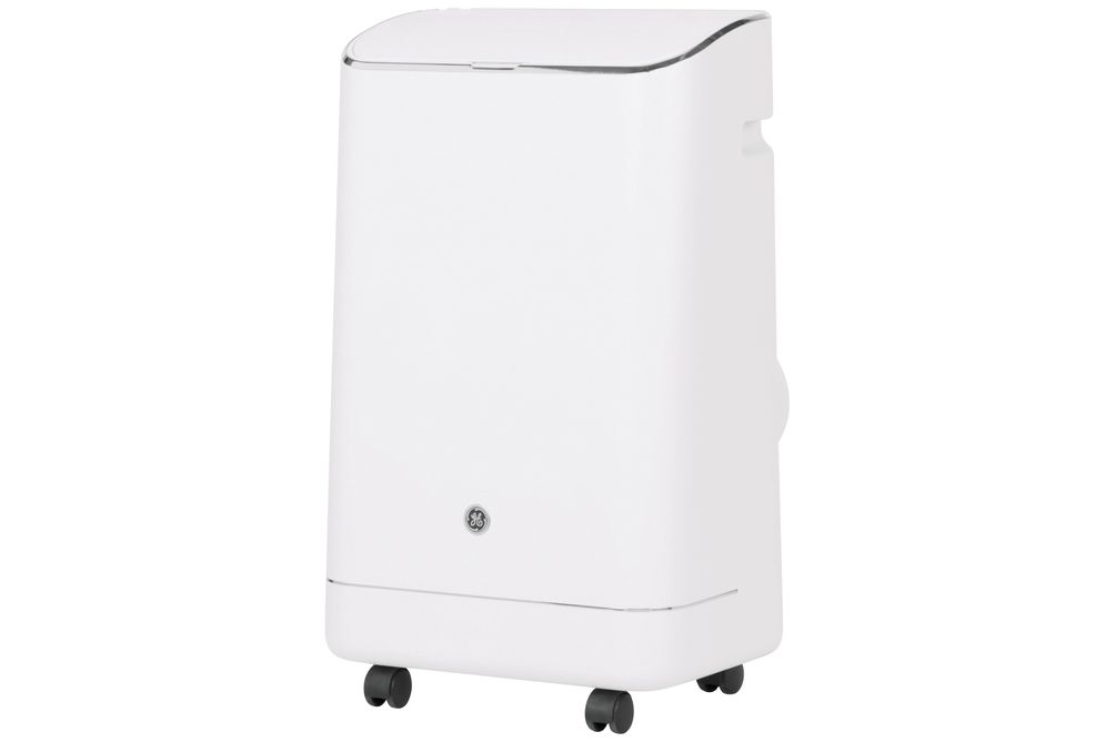 GE 12,000 BTU Portable Air Conditioner - Side Angle View