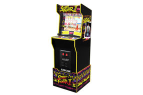 Arcade1Up Capcom Legacy Street Fighter II Arcade Game - Angle View