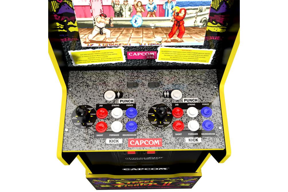 Arcade1Up Capcom Legacy Street Fighter II Arcade Game -  Game Controls