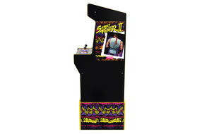Arcade1Up Capcom Legacy Street Fighter II Arcade Game - Side View