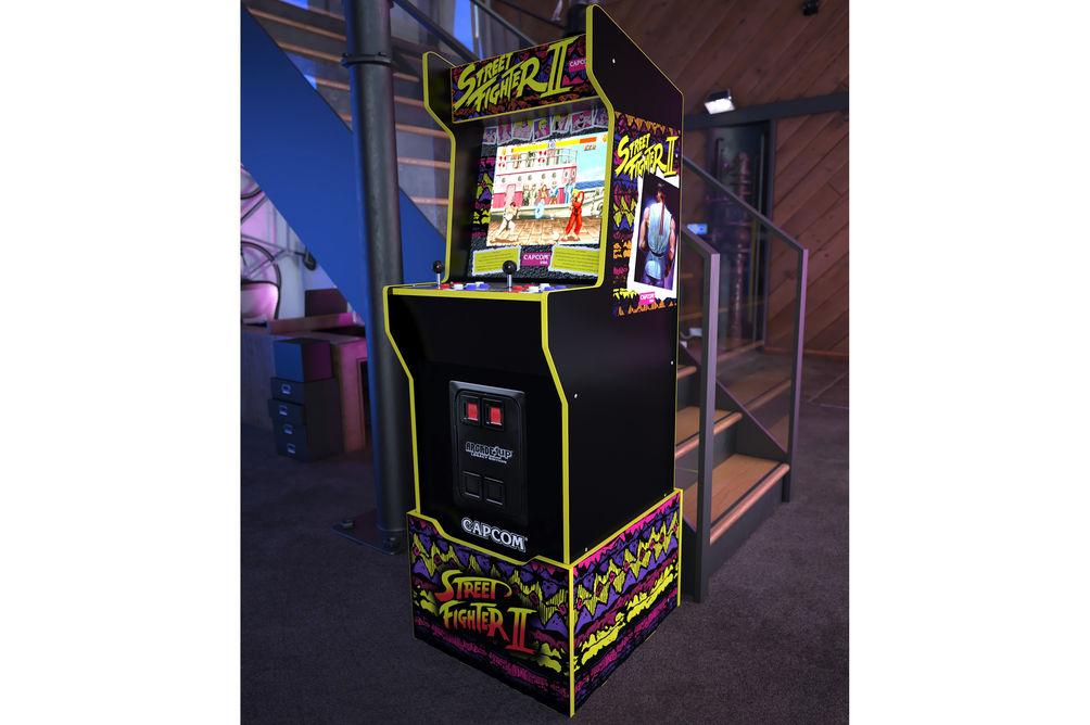 Arcade1Up Capcom Legacy Street Fighter II Arcade Game - Alternate View