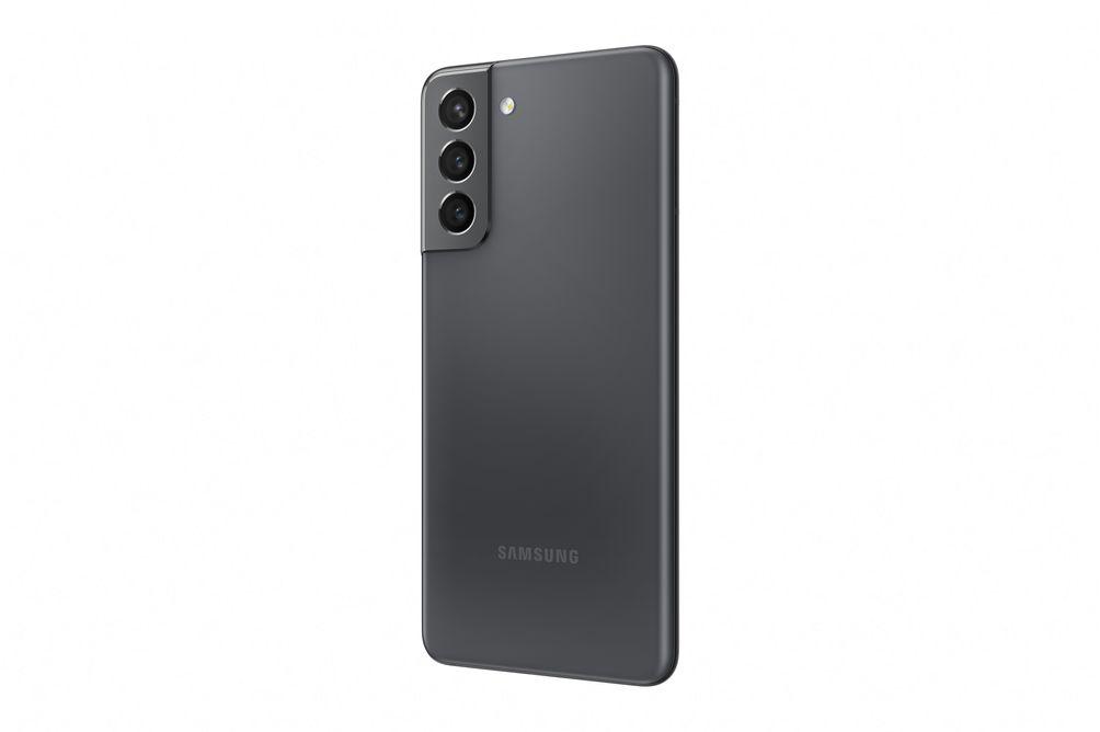 Samsung Galaxy S21 Phantom Grey - Back Angle View