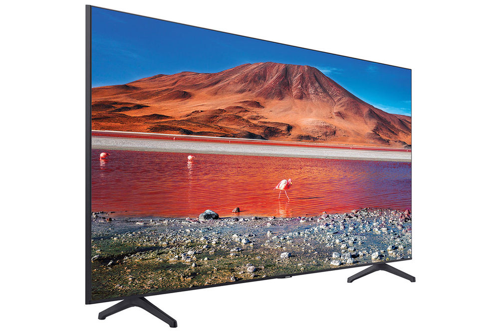 Samsung 58 inch 4K Crystal UHD LED Smart TV - Angle View