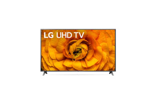 LG 86 inch 4K UHD LED Smart TV with AI ThinQ 86UN8570PU